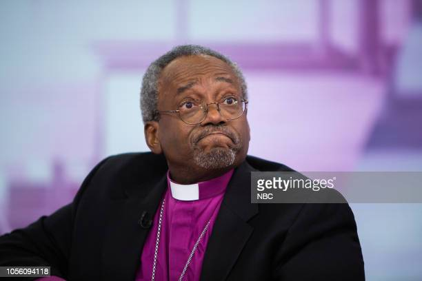 Bishop Michael Curry on Thursday November 1 2018