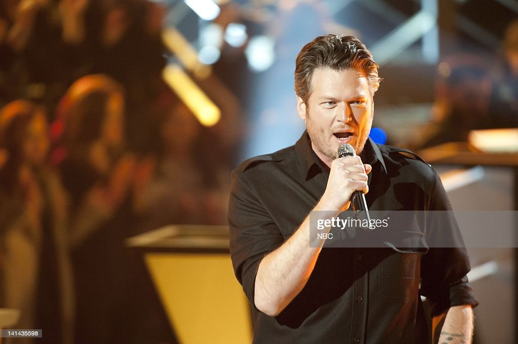 NBC'S NEW YEARS EVE WITH CARSON DALY -- Pictured: Blake ...