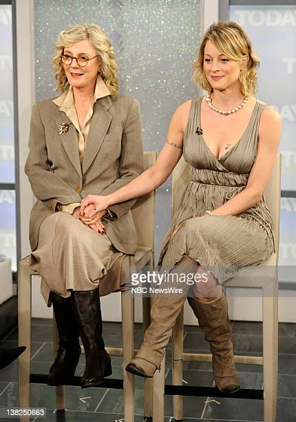 Blythe Danner and Teri Polo appear on NBC News' 'Today' show