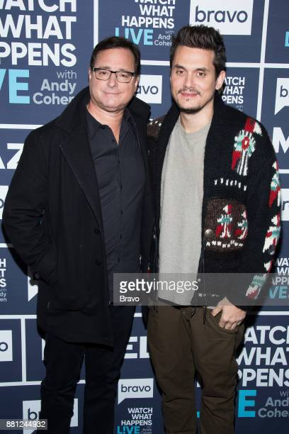 Bob Saget and John Mayer