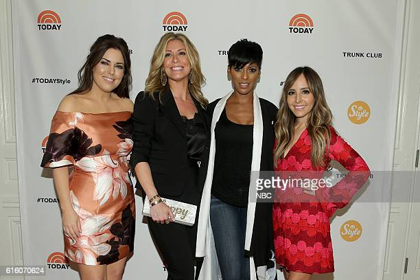 Pictured: Bobbie Thomas and Jill Martin of the TODAY Style Squad, TODAY host Tamron Hall and Lilliana Vazquez of the TODAY Style Squad on Thursday,...