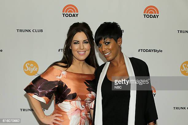 Pictured: Bobbie Thomas, TODAY style squad and TODAY host Tamron Hall on Thursday, October 20, 2016 --