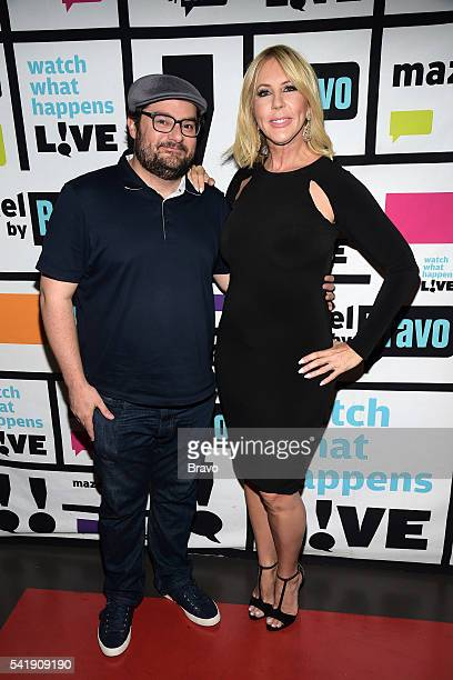 Bobby Moynihan and Vicki Gunvalson