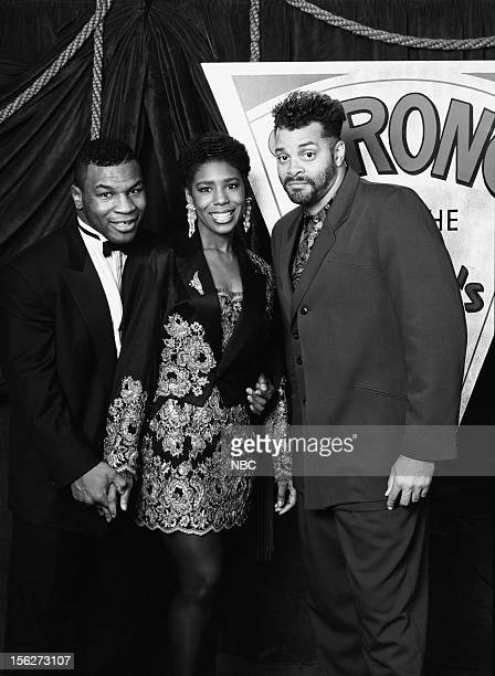 Boxer of the Decade winner Mike Tyson actress Dawnn Lewis Best Performance by an Actor in a Comedy Series or Special nominee Sinbad during the 22nd...