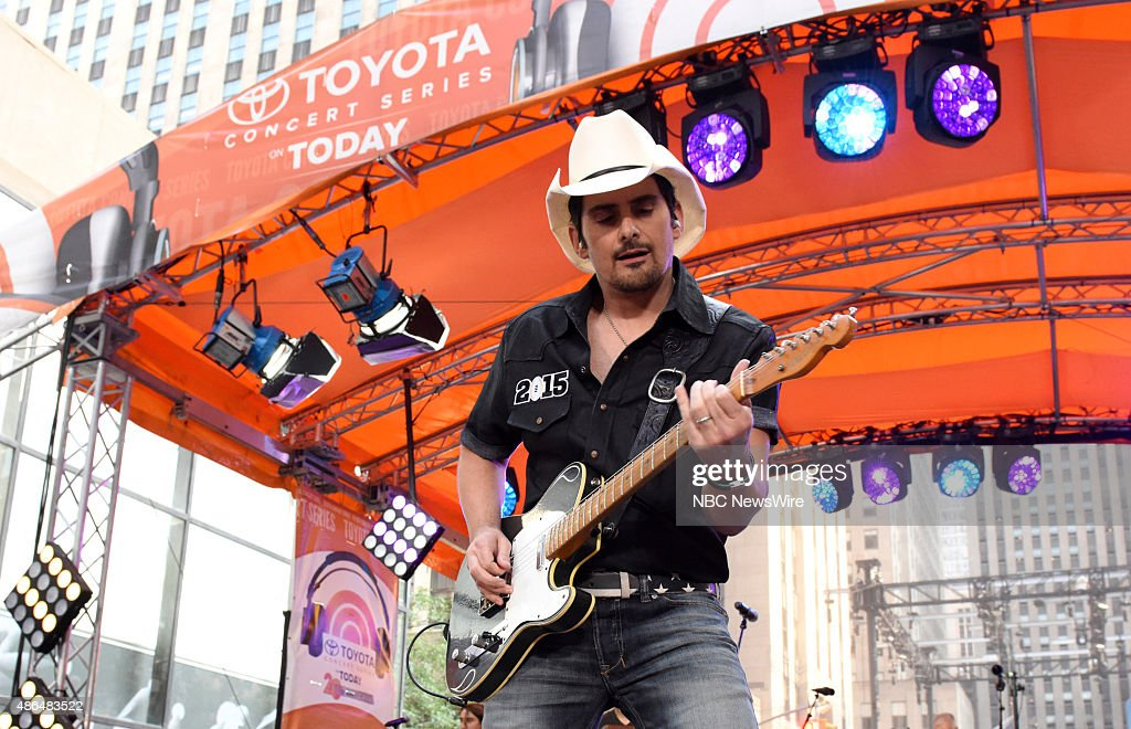 Brad Paisley appears on NBC News' 'Today' show --