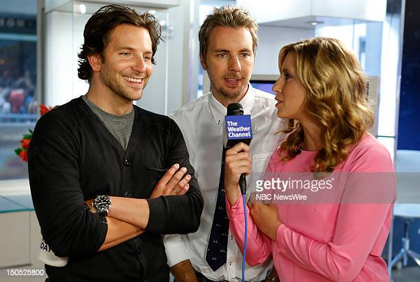 Bradley Cooper Dax Shepard and Stephanie Abrams appear on NBC News' Today show