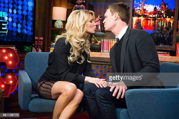 Brandi Glanville and Jeff Lewis