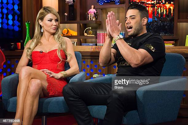 Brandi Glanville and Mike Shouhed