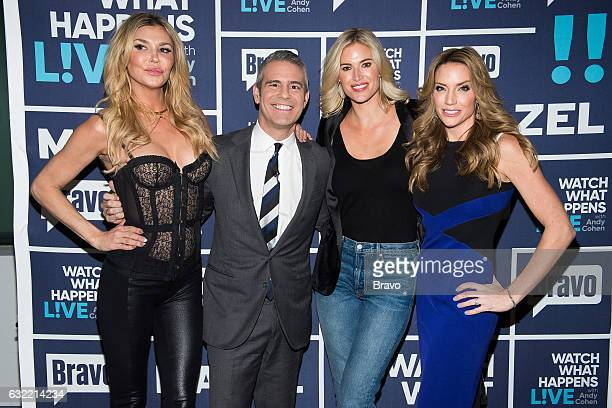Brandi Glanville Andy Cohen Kristen Taekman and Cary Deuber