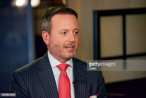 Brent Saunders Allergan CEO at the 34th annual JP Morgan Health Care Conference on January 12 2016 in San Francisco CA