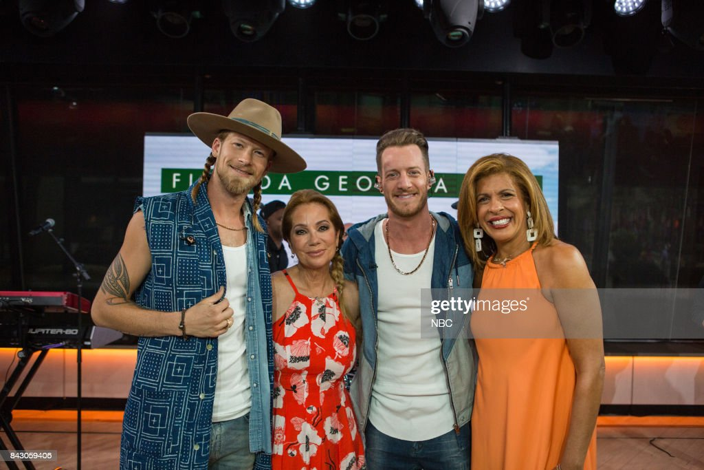 """NBC's """"Today"""" With guests Florida Georgia Line, Dean Cain, End of Summer Bash"""