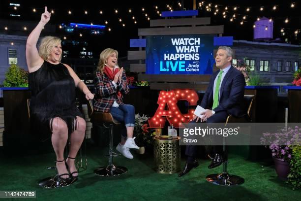 Pictured : Bridget Everett, Sonja Morgan and Andy Cohen --