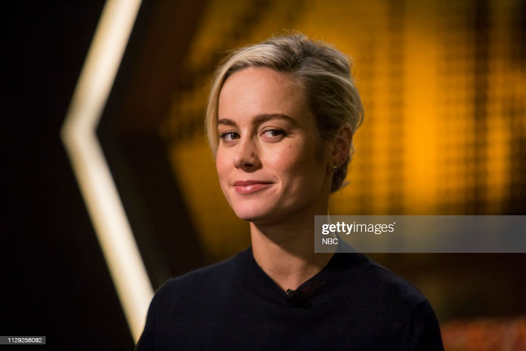 "NY: NBC's ""Sunday TODAY with Willie Geist"" with Brie Larson"