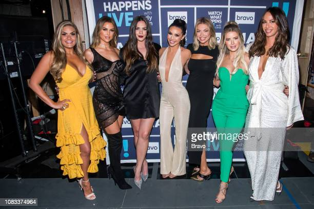 Brittany Cartwright Lala Kent Kate Maloney Scheana Shay Stassi Schroeder Ariana Madix and Kristen Doute