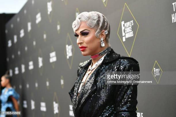 Brooke Lynn Hytes arrives to the 2019 E People's Choice Awards held at the Barker Hangar on November 10 2019 NUP_188994