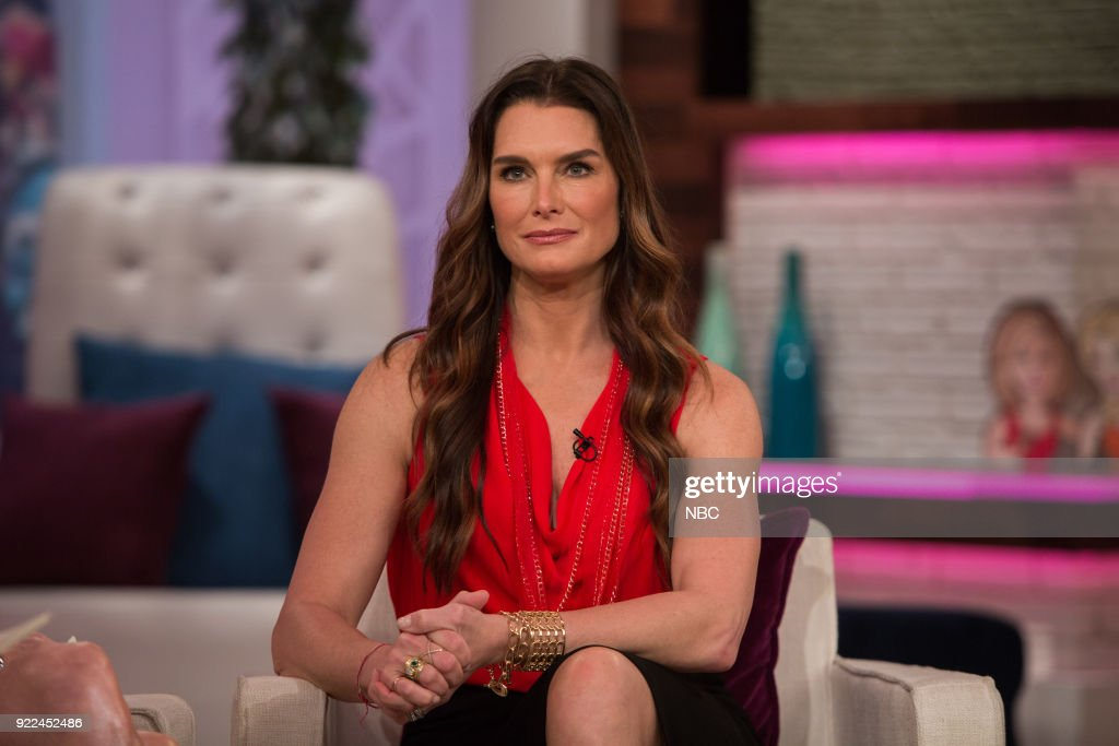 Brooke Shields on Wednesday, Feb. 21, 2018 --