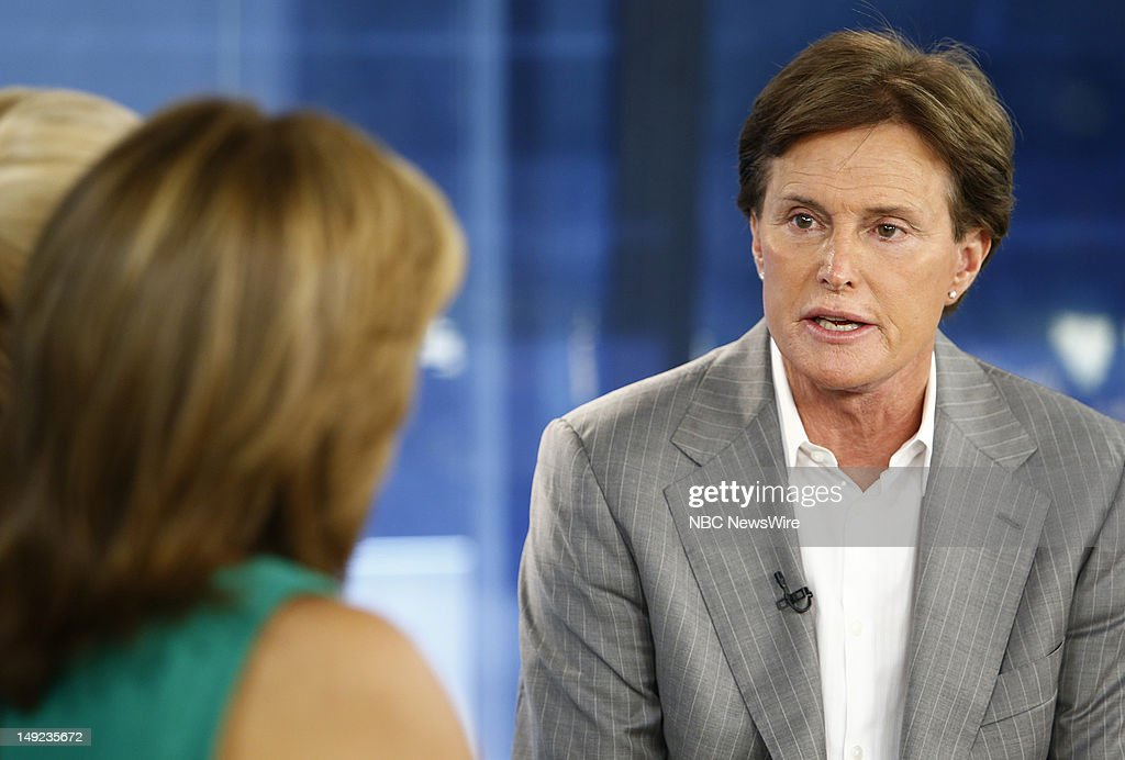 Bruce Jenner appears on NBC News' 'Today' show --