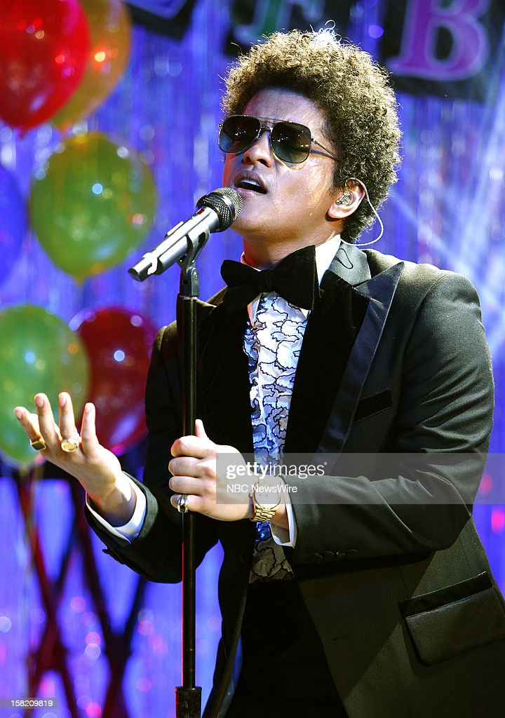 Bruno Mars appears on NBC News' 'Today' show --
