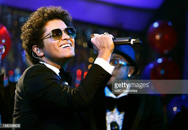 """Bruno Mars appears on NBC News' """"Today"""" show --"""