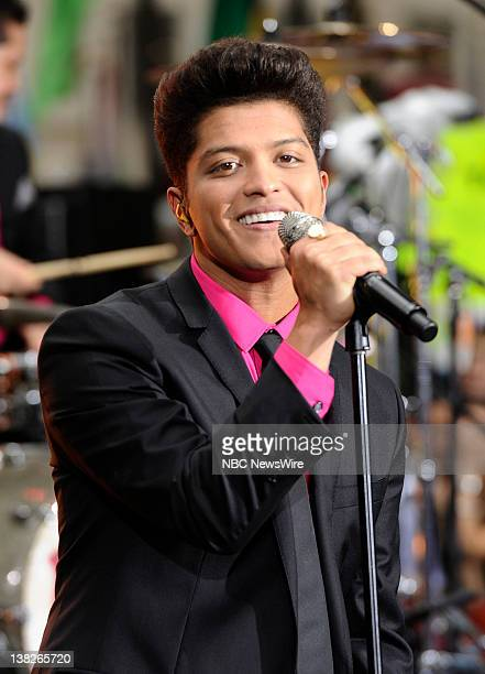 """Bruno Mars performs on NBC News' """"Today"""" show"""