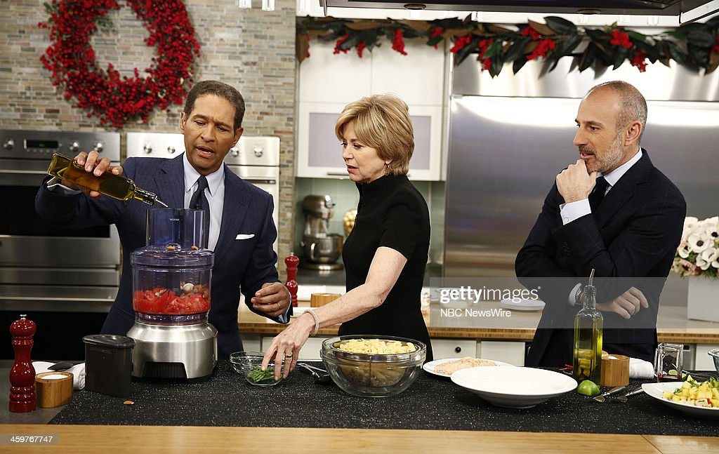 Bryant Gumbel, Jane Pauley and Matt Lauer appear on NBC News' 'Today' show --