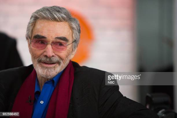 Burt Reynolds on Thursday March 15 2018