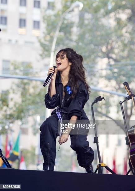 Camila Cabello on Friday, September 29, 2017 --