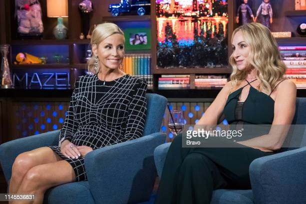 Camille Grammer and Tracy Pollan