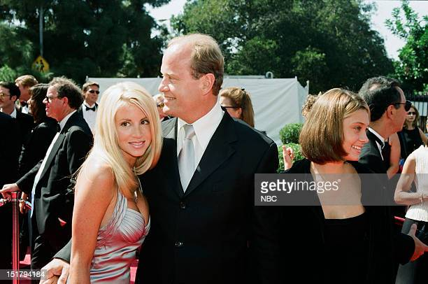 Pictured: Camille Grammer, Kelsey Grammer, daughter Kandace Greer Grammer arrive at the 50th Annual Primetime Emmy Awards held at the Shrine...