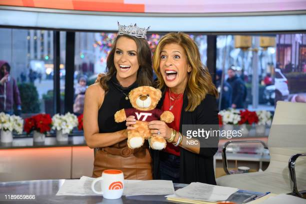 Camille Schrier and Hoda Kotb on Friday December 20 2019