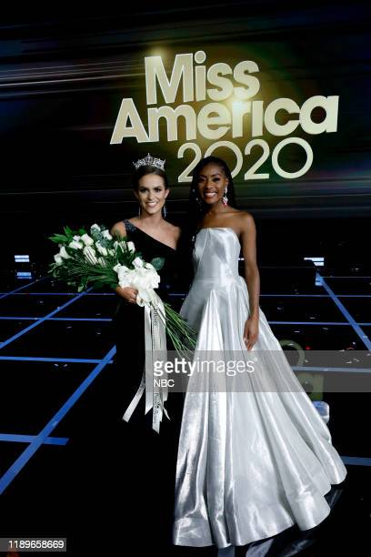 Pictured: Camille Schrier, Miss America 2020; Nia Franklin, Miss America 2019 at Mohegan Sun in Uncasville, CT on Thursday, December 19, 2019 --