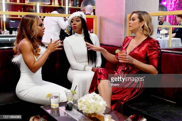 Pictured: Candiace Dillard, Wendy Osefo, Robyn Dixon --
