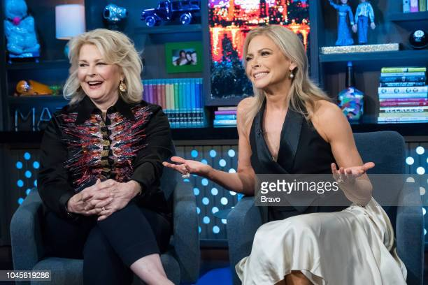 Pictured : Candice Bergen and Faith Ford --