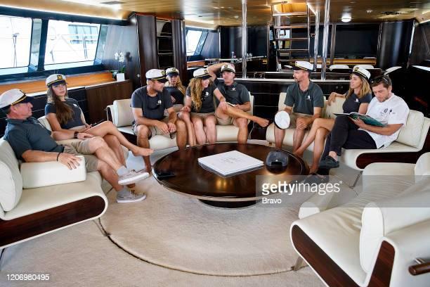 Pictured: Captain Glenn Shephard, Georgia Grobler, Parker McCown, Madison Stalker, Ciara Duggan, Paget Berry, Byron Hissey, Jenny MacGillivray, Adam...