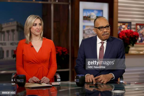 Carol Lee and Eugene Robinson appear on Meet the Press in Washington DC Sunday Dec 24 2017