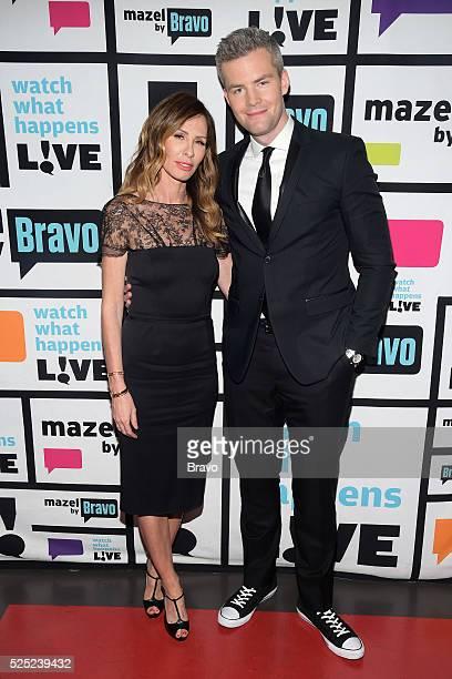 Carole Radziwill and Ryan Serhant