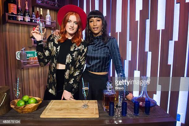 Caroline Hjelt and Aino Jawo from Icona Pop