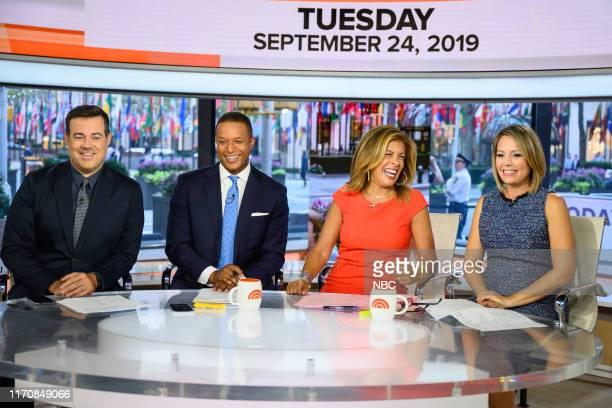 Carson Daly Craig Melvin Hoda Kotb and Dylan Dreyer on Tuesday September 24 2019