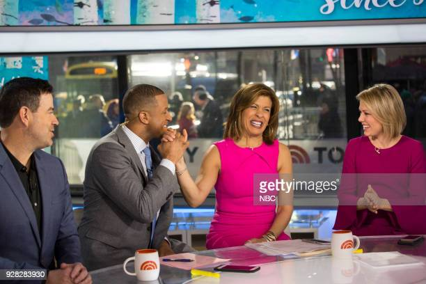 Carson Daly Craig Melvin Hoda Kotb and Dylan Dreyer on Tuesday March 6 2018