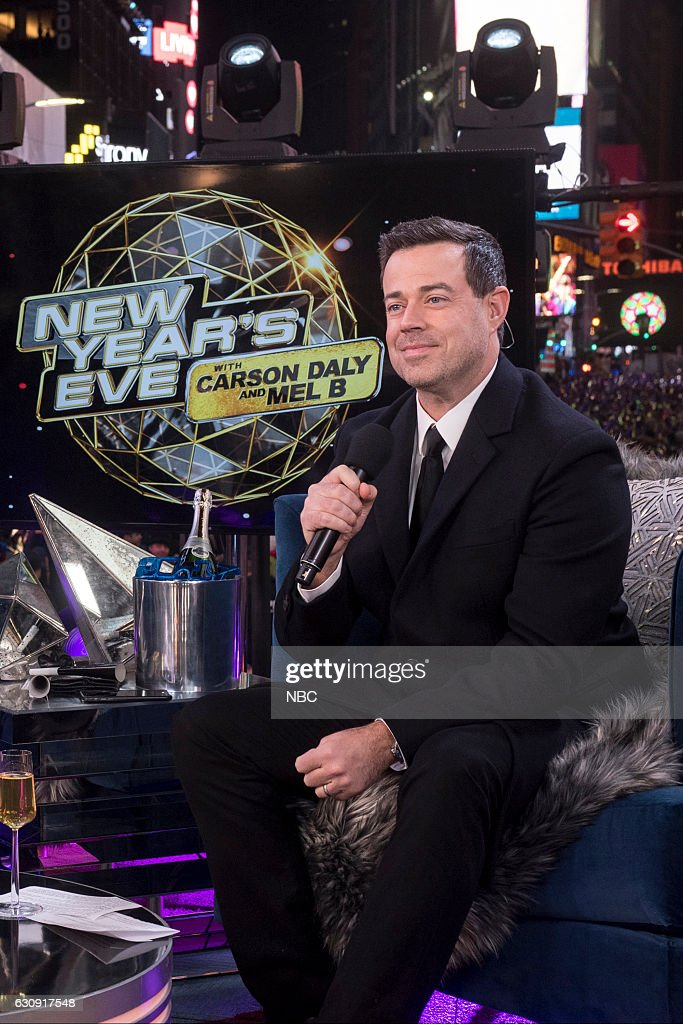 """NBC's """"New Year's Eve with Carson Daly"""" 2016"""