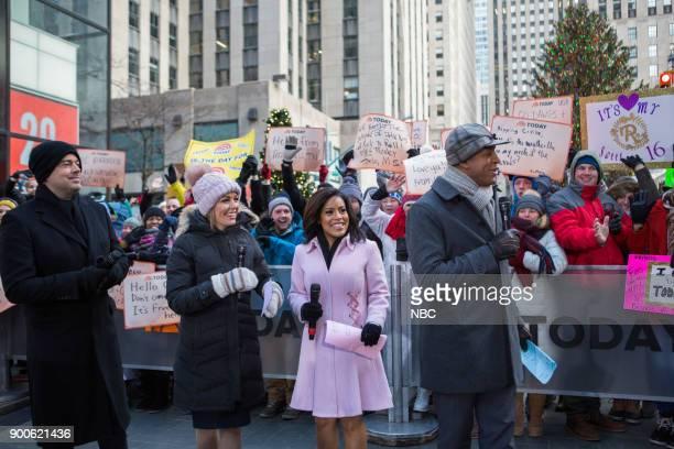 Carson Daly Dylan Dreyer Sheinelle Jones and Craig Melvin on Friday December 29 2017