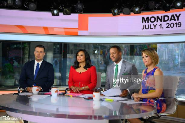 Carson Daly Kristen Welker Craig Melvin and Dylan Dreyer on Monday July 1 2019