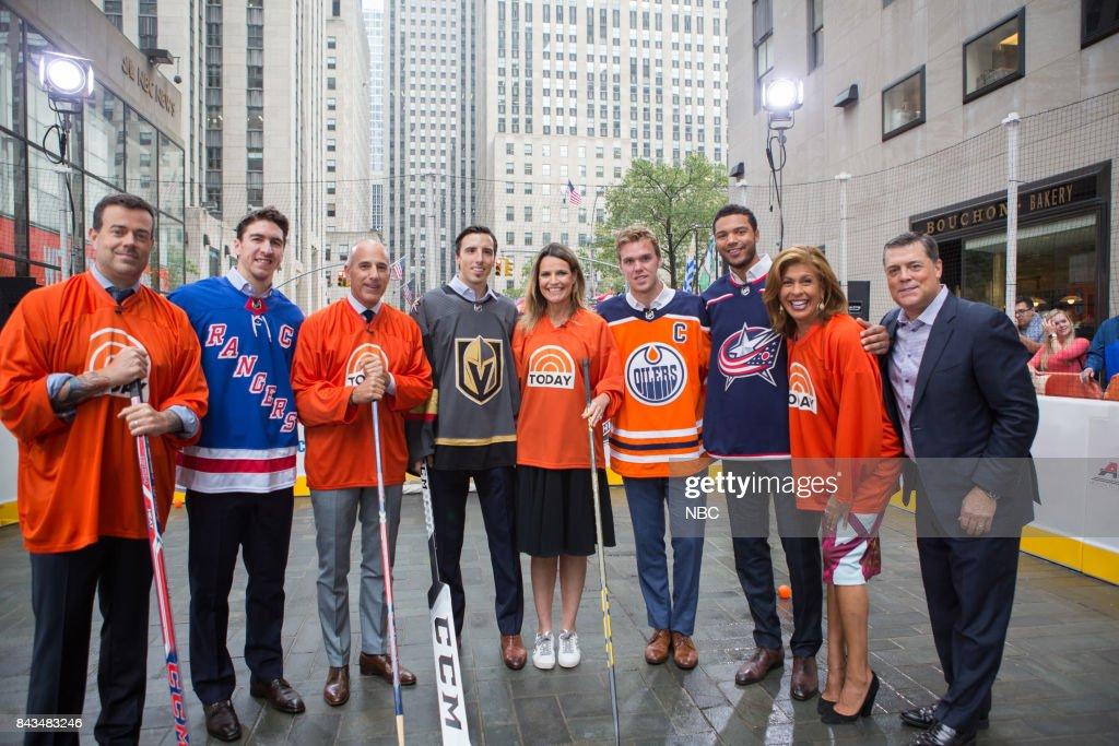 "NBC's ""Today"" With guests NHL players, Guinness World Records, The Script"