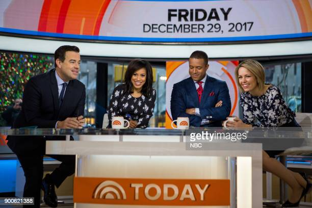 Carson Daly Sheinelle Jones Craig Melvin and Dylan Dreyer on Friday December 29 2017
