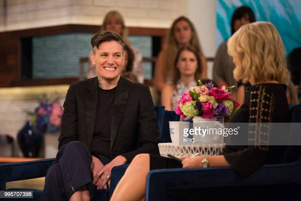 Casey Legler and Megyn Kelly on Tuesday July 10 2018