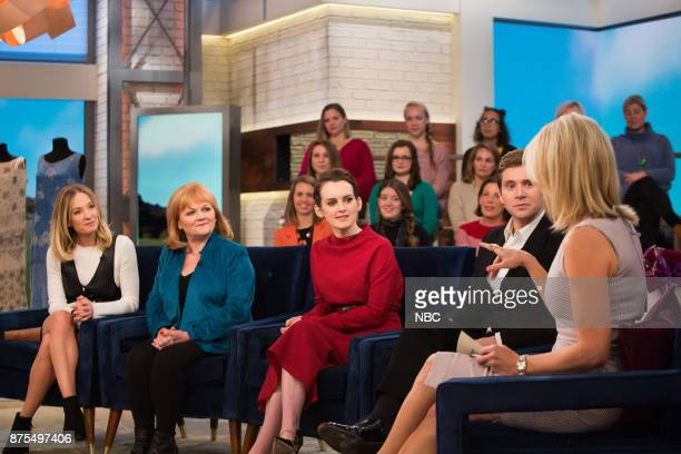 Cast of Downton Abbey and Megyn Kelly on Friday November 17 2017