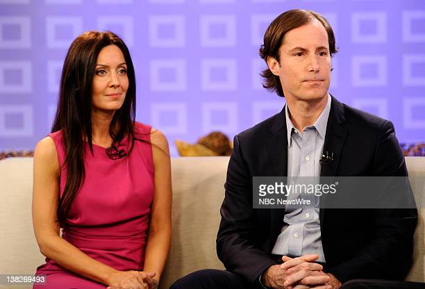 Catherine Hooper and Andrew Madoff appear on NBC News' 'Today' show