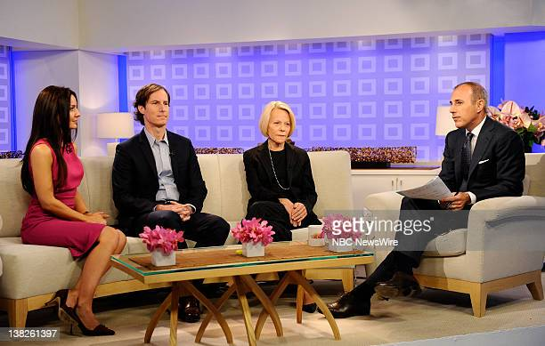 Catherine Hooper Andrew Madoff Ruth Madoff and Matt Lauer as Prince William appear on NBC News' 'Today' show