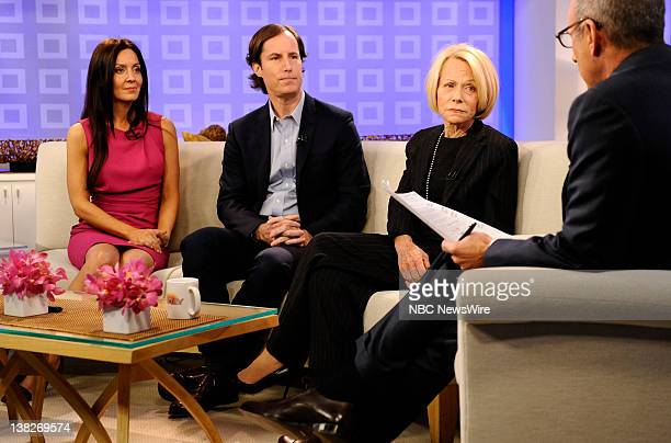 Catherine Hooper Andrew Madoff Ruth Madoff and Matt Lauer as Prince William appear on NBC News' Today show