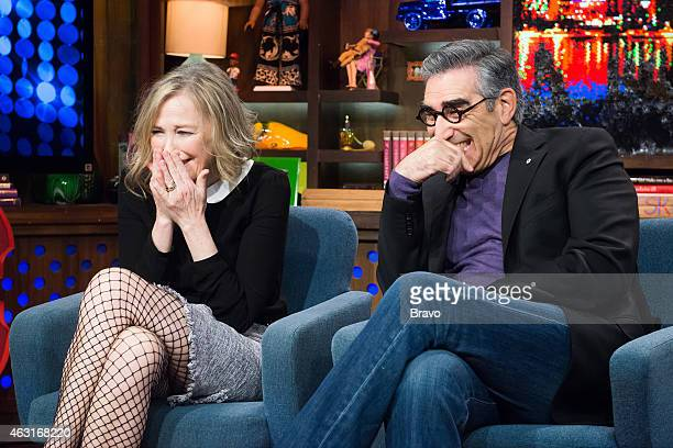 Pictured : Catherine O'Hara and Eugene Levy --